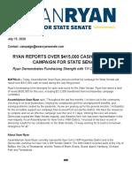 Sean Ryan Senate 60 Press Release 071520 2