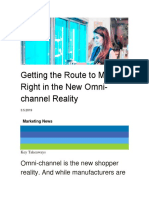 7. Getting the Route to Market Right in the New Omni