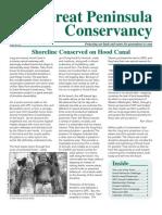 2010 Fall Great Peninsula Conservancy Newsletter