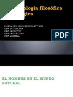 Antropología 1 -  Vida vegetativa, sensitiva, intelectiva, volitiva