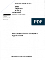 Metamaterials for Aerospace Applications