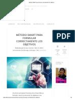 Método SMART para formular correctamente los objetivos.pdf
