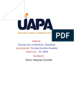 estudio de la literatura española tarfea 2 yome, els.odt