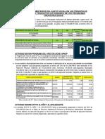 4.-Análisis y comentarios del Gasto Social en los principales proyectos y productos II Semestre 2019