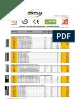 LISTA PVP SUGERIDOS INTERFLEX  (Junio  01 2017)