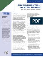 Doe Air Distribution System Design