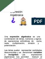 Expresines Algebraica