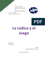 LA LUDICA Y EL JUEGO