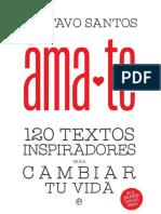 Ámate. 120 textos inspiradores para cambiar tu vida.pdf