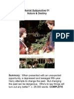 Minisinoo Aorist Subjunctive 01 - Nature & Destiny
