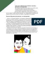 Propuesta de socialización para la difusión de los derechos sexuales y reproductivos de las personas con discapacidad