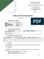 modèle de PP2 de 5éme