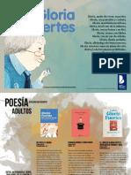 Obras de Gloria Fuertes en la editorial cervantes