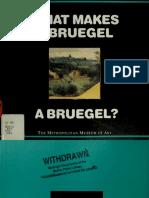 What makes a Bruegel a Bruegel (Art Ebook)