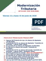 001. Modernizacion  Tributaria 2020