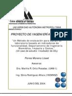 PROYECTO DE INGENIERÍA CLÍNICA