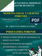 TEMA - PSIQUIATRÍA FORENSE