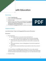 lesson plan - mental health -4