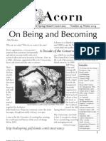 Winter 2004  Acorn Newsletter - Salt Spring Island Conservancy