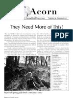 Autumn 2006  Acorn Newsletter - Salt Spring Island Conservancy