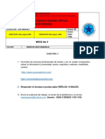 Guía de Trabajo 5 Semana Tercer Periodo