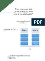 Etica y rehabilitación