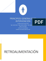 Principios de intervencion