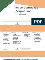 Princípios de Eletricidade e Magnetismo