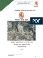 PLAN-DE-CONTINGENCIA-ANTE LLUVIAS INTENSAS - 2019 - KISHUARA