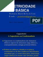 aula 6 CAPACITORES com exercícios  parte 1.pdf