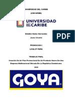 UNIVERSIDAD DEL CARIBE - TRABAJO FINAL PROMOCION.docx