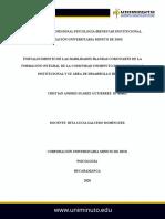 Práctica Profesional Psicología Bienestar Institucional Cristian Suarez