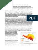 Evaluación de Recursos Hídricos en la cuenca Camaná