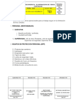 010. PROCEDIMIENTO ELIMINACION DE TIROS CORTADOS...docx