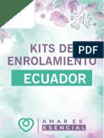 KITS DE INSCRIPCIÓN ECUADOR