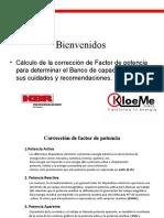 Presentación de factor de potencia y armonicos Agosto del 2018.