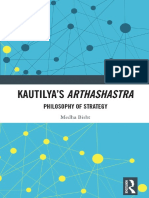 Medha Bisht - Kautilya's Arthashastra_ Philosophy Of Strategy-Routledge_Taylor & Francis Group (2920)