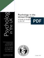 Careers as Psychologist in UK