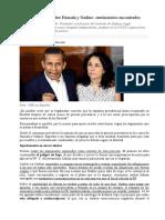 Sentencia del TC sobre Humala y Nadine