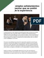 No bastan simples señalamientos para argumentar que se omitió una regla de la experiencia _ Noticias jurídicas y análisis de nuevas leyes AMBITOJURIDICO.COM.pdf