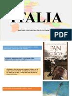 ITALIA  historia desconocida de su gastronomía