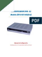 DECODIFICADOR ZTE ZXV10 B710S -A31-Gris-_Hispansat terminado