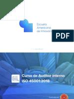 Brochure - Auditor Interno ISO 45001 2018 (1)