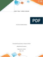 Unidad 1 - Etapa 2 - Análisis y articulación - actividad individual 2 - Selección de la empresa juan david