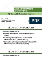 6.MIL 5. Media and Information Sources