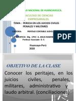 PERICIA EN LOS JUICIOS CIVILES PENALES Y MILITAR CAP. VI  2016 II -3