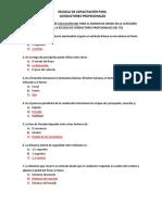 Educación Vial - BANCO DE PREGUNTAS EX GRADO ITQ  2018 (1)