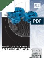 Catalogo Motores WEG Con Dimensiones