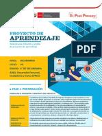 PROYECTO DE APRENDIZAJE_DPCC_SECUNDARIA