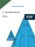 C1 - Water Methanol Separation